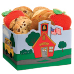 School House Cookie Gift Box