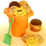Summer Beach Fun Cookie Pail Gift