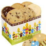 Birthday Candles Cookie Gift Box