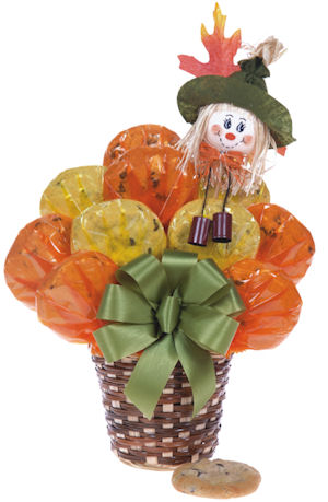 Scarecrow Fall Cookie Basket imagerjs