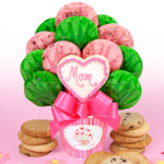 Mom's Heart Cookie Arrangement for Mother's Day