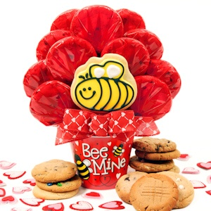 'Bee Mine' Cookie Bouquet imagerjs