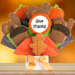 Happy Thanksgiving Cookie Bouquet
