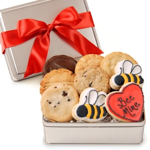'Bee Mine' Cookie Tin imagerjs