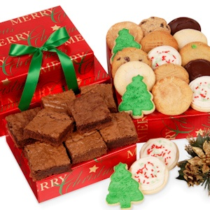 Merry Christmas Cookie & Brownie Bakery Boxes imagerjs