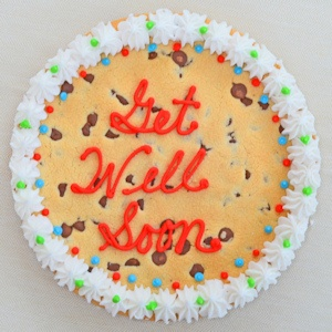 Get Well Soon Big Cookie Cake imagerjs