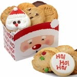 Santa Christmas Cookie Box