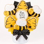 Bee Well Soon Cutout Cookie Bouquet