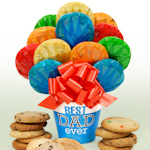 'Best Dad Ever' Fathers Day Cookie Pot