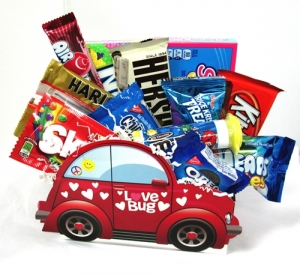 Love Bug Valentine Candy Bouquet imagerjs