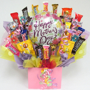 World's Best Mom Candy Bouquet imagerjs