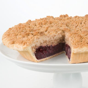Blueberry Crumb Pie imagerjs
