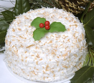 Holiday Coconut Cake imagerjs