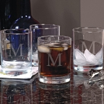 Personalized Old Fashioned Glasses (Set of 4)