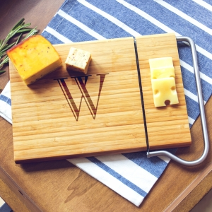 Personalized Bamboo Cheese Slicer imagerjs