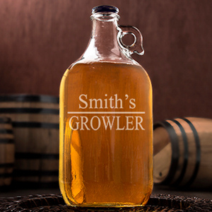 Personalized Beer Growler imagerjs
