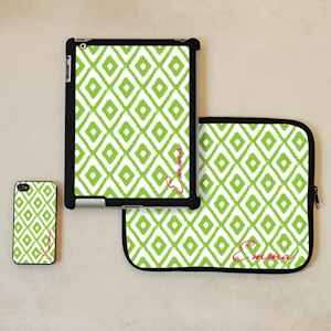 Ikat Print Personalized iPhone and iPad Accessories imagerjs