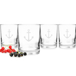 Anchor Drinking Glasses (Set of 4)