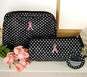 Breast Cancer 2 Piece Cosmetic Set imagerjs