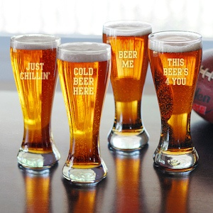 Cold Beer Here Pilsners - Set of 4 imagerjs
