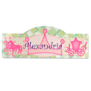 Personalized Princess Kid's Room Sign imagerjs