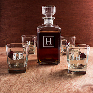 Personalized Decanter Set (5 Pieces) imagerjs