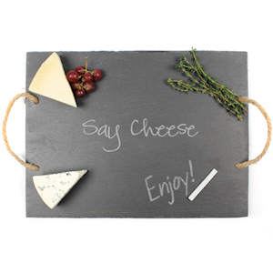 Say Cheese Slate Serving Board imagerjs