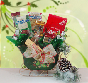 Holiday Sleigh Ride Chocolate Bouquet imagerjs