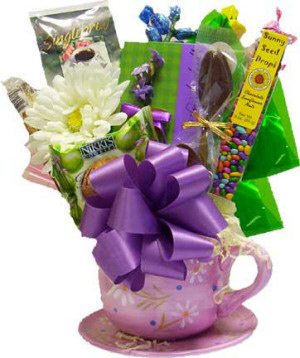 Time for Tea Candy Bouquet image