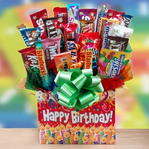 Grand Birthday Celebration Candy Bouquet imagerjs