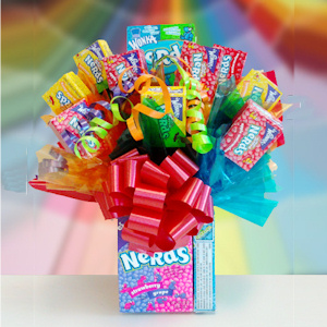 Nerds Edible Candy Base Bouquet imagerjs
