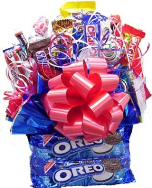 Oreo Cookies & Candy Bouquet image