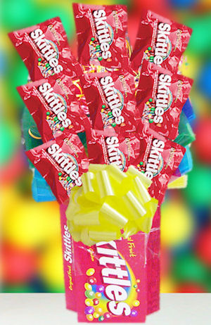 Skittles All Candy Bouquet imagerjs