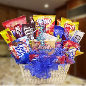 Snack Time Assortment Gift Basket imagerjs
