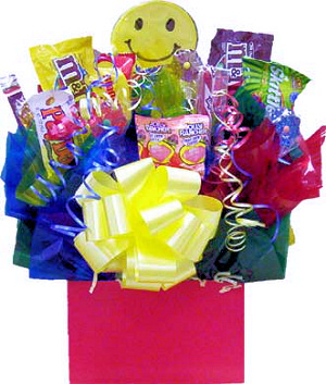 Send A Smile Candy Bouquet image