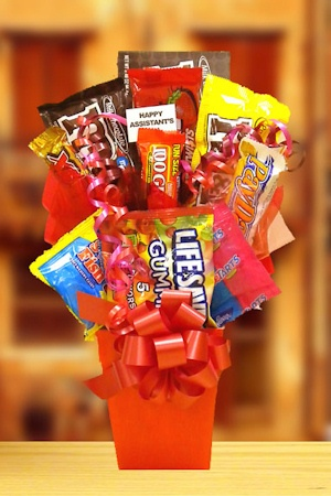 Sweet Treats Box Candy Bouquet image