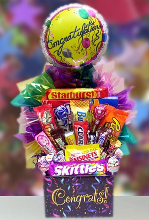Sweet Congratulations Candy Gift Box imagerjs