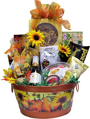 Fall Bounty Gift Basket image