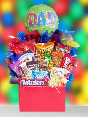 Father's Day Snacking Basket imagerjs
