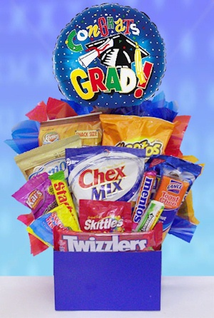 Graduation Snacks and Candy Basket imagerjs