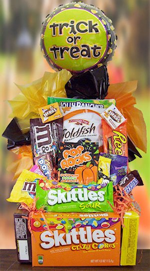 Halloween Edible Base Candy Bouquet image