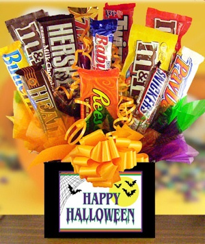 Happy Halloween Candy Bar Bouquet imagerjs
