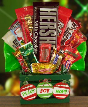 Holiday Crate Candy Bouquet image