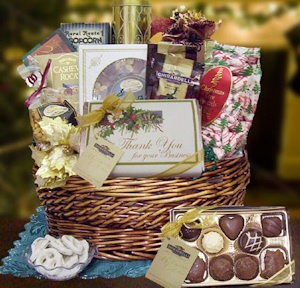 Thank You for Your Business Holiday Basket image