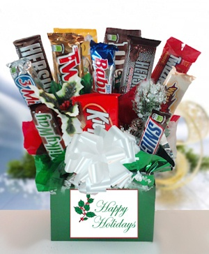 12 Days of Christmas Candy Bar Bouquet imagerjs