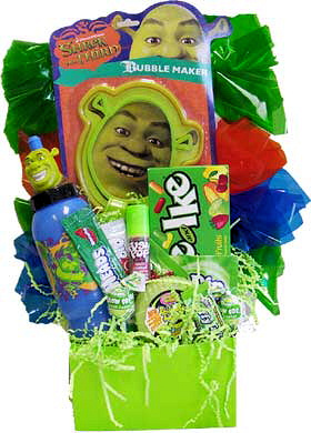 Kids Shrek Gift Basket image