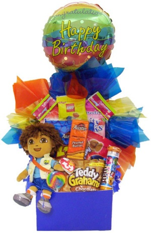 Go Diego Go Candy Bouquet imagerjs