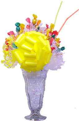 Sugar Free Candy Fountain Sundae image