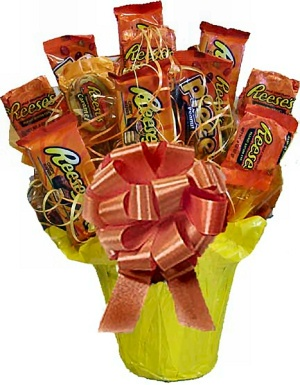 Reeses Lovers Candy Bouquet imagerjs