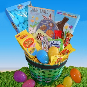 Boys Happy Easter Candy Basket imagerjs